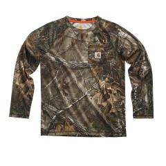 Boys' Force Camo Raglan Tee