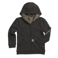 Boys' Reversible Fleece Zip Sweatshirt