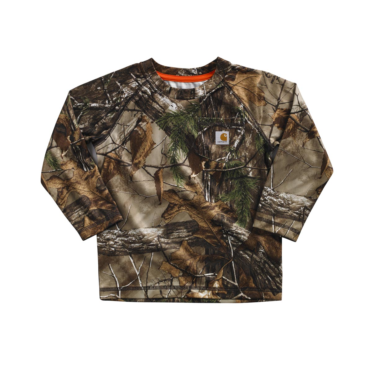 Carhartt Toddler Boys' Force Camo Pocket Tee