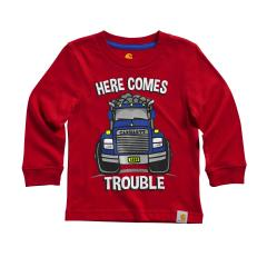 Boys' Here Comes Trouble Tee