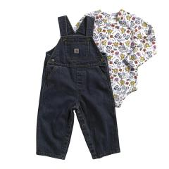 Infant Boys' Farmer Overall Set