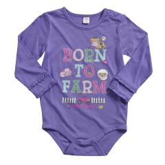 Infant Girls' Born to Farm Bodyshirt