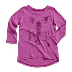 Toddler Girls' Being Cute Tee