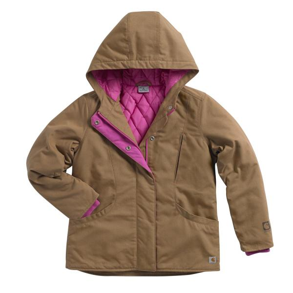 Carhartt Girls' Quick Duck Mountain View Jacket