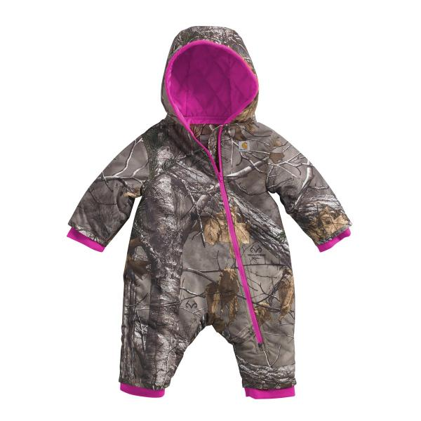 Carhartt Infant Girls' Camo Snowsuit