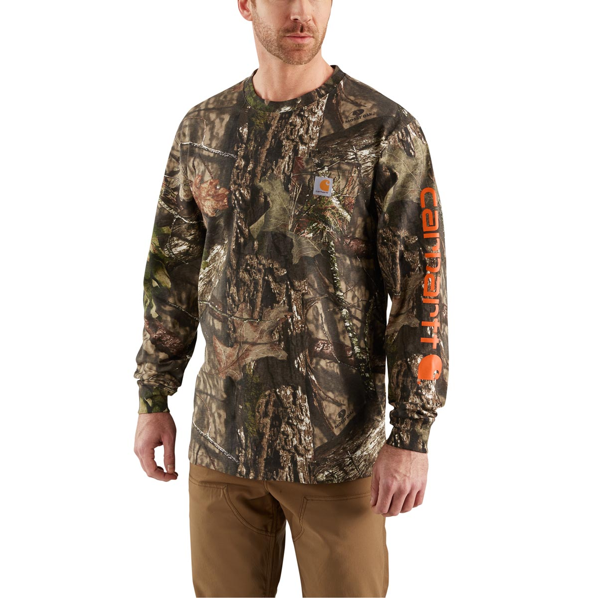 Carhartt Men's Workwear Graphic Camo Sleeve Long Sleeve T-Shirt