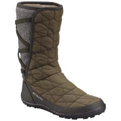 Women's Minx Mid Slip Omni Heat Nylon with Tweed