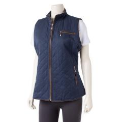 Pendleton Women's Trimmed Quilted Vest
