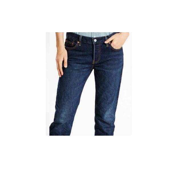 Levi Women's 501 Customized and Tapered Jeans