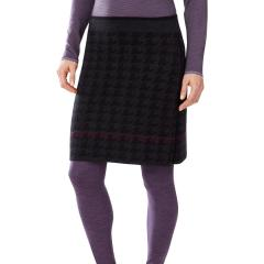 Double Knit Houndstooth Skirt