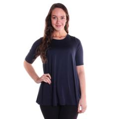 Comfy USA Women's Elbow Sleeve Tunic