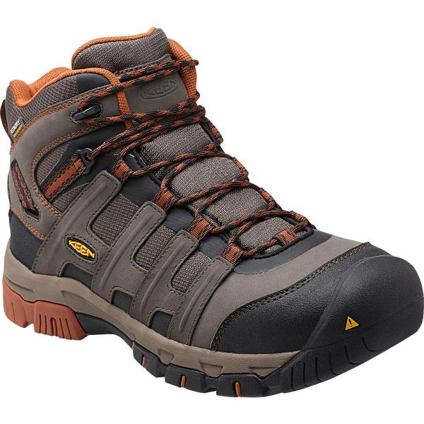 KEEN Utility Men's Omaha Mid Waterproof Steel Toe