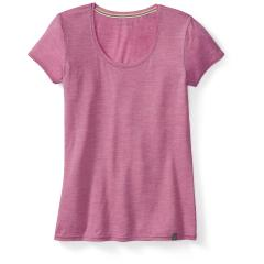 SmartWool Women's Solid Scoop Tee