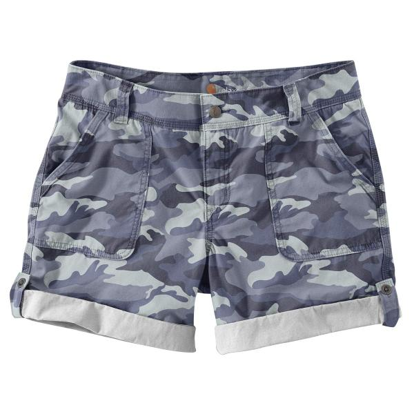 Carhartt Women's Relaxed Fit El Paso Short Camo