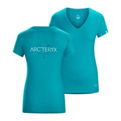Arcteryx Women's Maple Short Sleeve V-Neck T-Shirt
