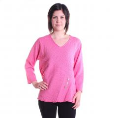 Lulu-B Women's Round Neck Sweater