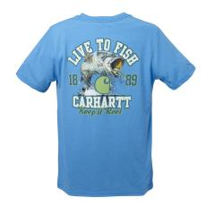 Boys' Live to Fish Force Tee