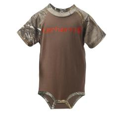 Infant Boys' Camo Raglan Bodyshirt