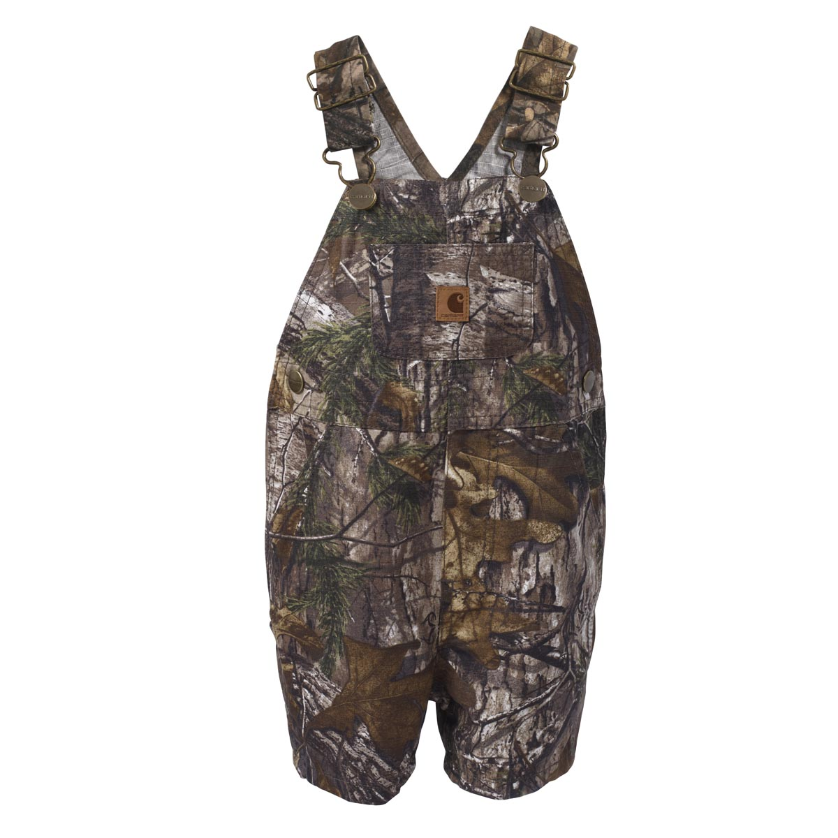 Carhartt Infant Boys' Camo Ripstop Bib Shortall