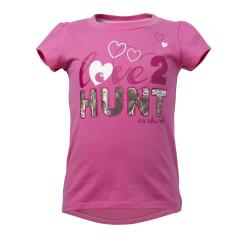 Toddler Girls' Love to Hunt Tee