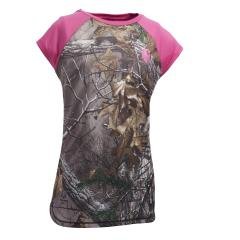 Girls' Force Camo Raglan