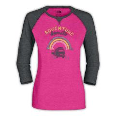 Women's 3/4 Sleeve Adventure Waits Tee