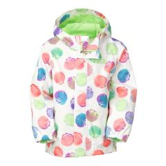 Toddler's Printed Tailout Rain Jacket