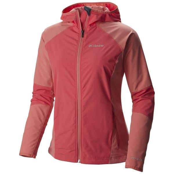 Columbia Women's Sweet As Softshell Hoodie Extended Sizes - Discontinued Pricing