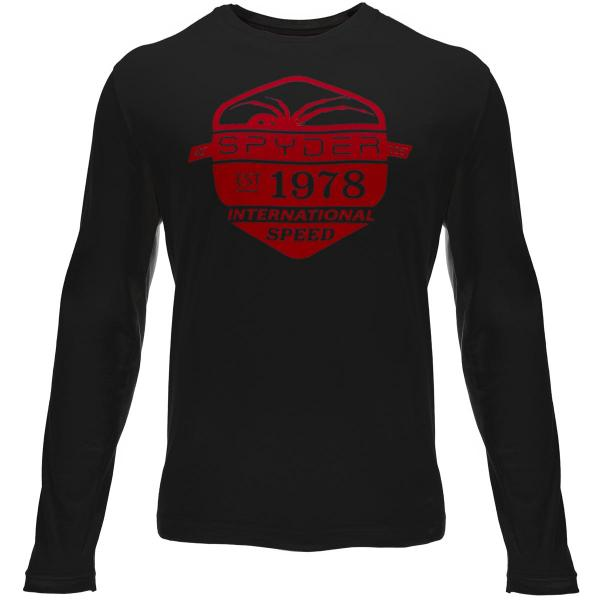 Spyder Men's Speed Graphic Long Sleeve T-Shirt