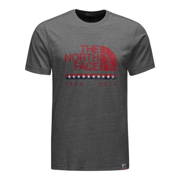 The North Face Men's Short Sleeve USA Tri-Blend Tee
