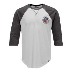 The North Face Men's 3/4 Sleeve USA Baseball Tee