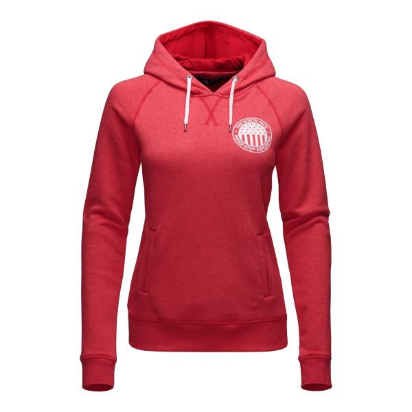 The North Face Women's French Terry USA Pullover Hoodie