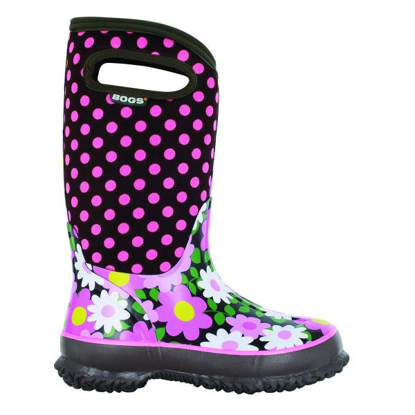 Bogs Toddler Girls' Classic Flower Dots Sizes 7-13 - Discontinued Pricing