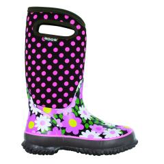 Bogs Youth Girls' Classic Flower Dots Sizes 1-7 - Discontinued Pricing