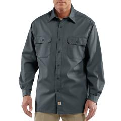 Carhartt Men's Twill Long-Sleeve Work Shirt- Discontinued Pricing