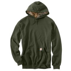 Men's Midweight Houghton Camo Hood Lined Sweatshirt - Discontinued Pricing