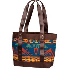 Women's Small Snap Canvas Tote