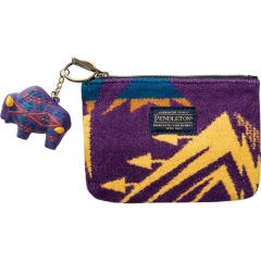 Women's Zip Pouch with Keychain