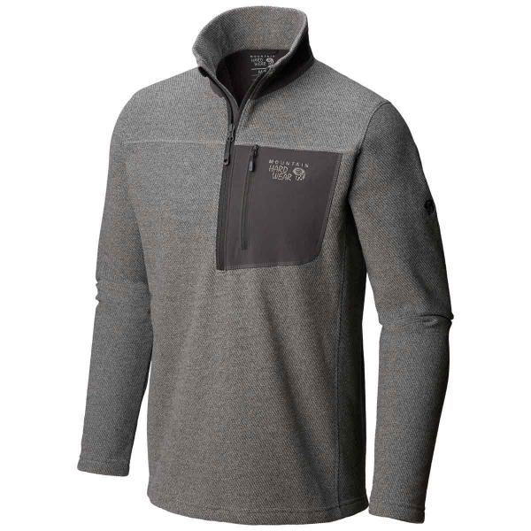 Mountain Hardwear Men's Toasty Twill Fleece Half Zip