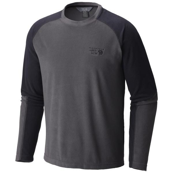 Mountain Hardwear Men's Microchill Lite Long Sleeve Crew