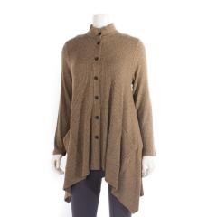 Comfy USA Women's Portland Tunic Jacket Sweater Knit