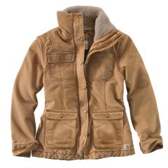 Women's Weathered Duck Wesley Coat