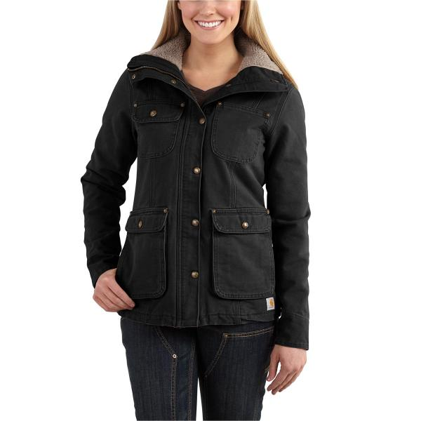 2c1b19711d63b Carhartt Women s Weathered Duck Wesley Coat