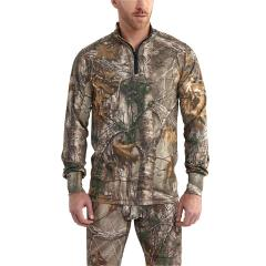 Men's Base Force Extremes Cold Weather Camo Quarter Zip