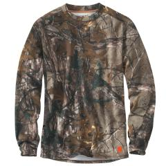 Carhartt Men's Base Force Extremes Cold Weather Camo Crewneck