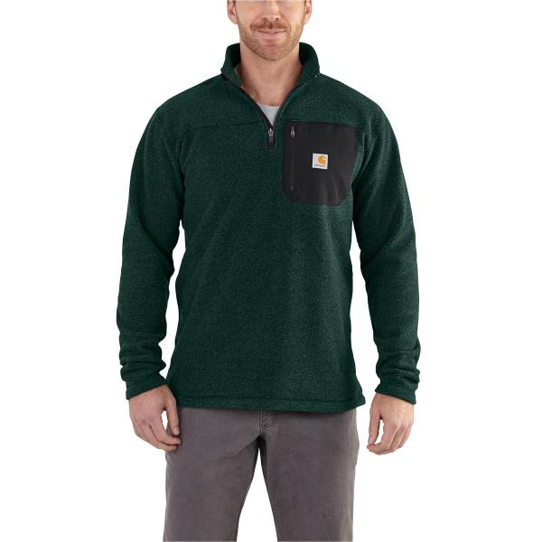 Carhartt Men's Walden Quarter-Zip Sweater Fleece
