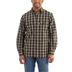 Men's Fort Plaid Long-Sleeve Shirt