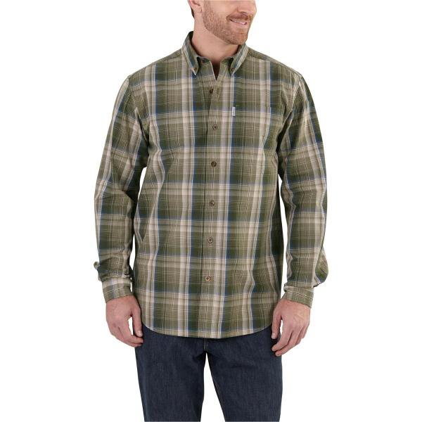 Carhartt Men's Bellevue Long-Sleeve Shirt