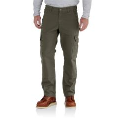 Men's Ripstop Cargo Work Pant - Flannel Lined