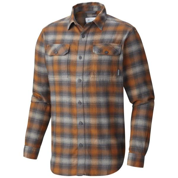Columbia Men's Flare Gun Flannel III Long Sleeve Shirt - Tall